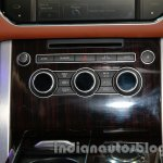 Range Rover L at Auto Expo 2014 AC controls