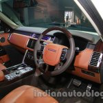 Range Rover L at Auto Expo 2014 cabin 2