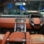 Range Rover L at Auto Expo 2014 cabin