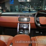 Range Rover L at Auto Expo 2014 dashboard