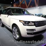 Range Rover L at Auto Expo 2014 front quarter right