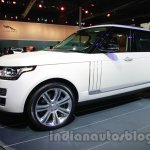 Range Rover L at Auto Expo 2014 front quarter