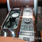 Range Rover L at Auto Expo 2014 odd road controls
