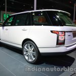 Range Rover L at Auto Expo 2014 rear quarter left