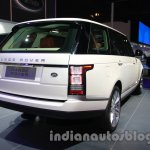 Range Rover L at Auto Expo 2014 rear quarter