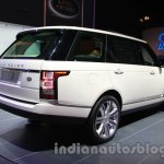 Range Rover L at Auto Expo 2014 rear quarters