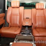 Range Rover L at Auto Expo 2014 rear seats