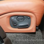 Range Rover L at Auto Expo 2014 seat controls