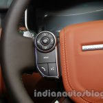 Range Rover L at Auto Expo 2014 steering controls