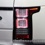 Range Rover L at Auto Expo 2014 taillight