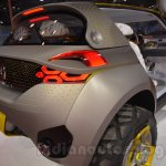 Renault's KWID concept rear three quarters Auto Expo showcase