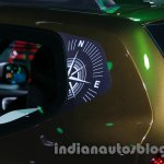 Renault Duster Adventure Edition compas graphic at Auto Expo 2014