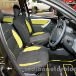 Renault Duster Adventure Edition front seats at Auto Expo 2014