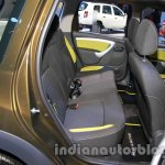 Renault Duster Adventure Edition rear seat at Auto Expo 2014