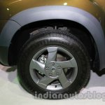 Renault Duster Adventure Edition wheel at Auto Expo 2014