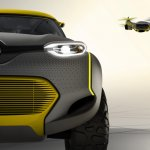 Renault KWID Concept headlamp detail press shot
