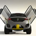 Renault KWID Concept rear & scissor doors press shot