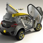Renault KWID scissor doors front press shot