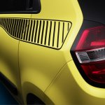 Renault Twingo decal and taillight press shot