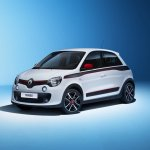 Renault Twingo front three quarter press shot