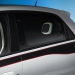 Renault Twingo seat and headrest press shot