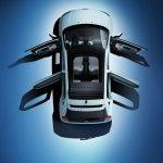 Renault Twingo top with doors open press shot