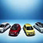 Renault Twingo variants front press shot
