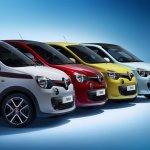 Renault Twingo variants grille press shot