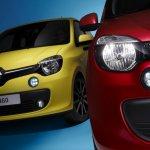 Renault Twingo variants headlamp detail press shot