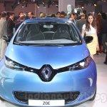 Renault ZOE front live