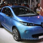 Renault ZOE front three quarter right live