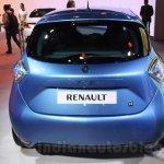 Renault ZOE rear live