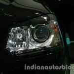 Skoda Yeti facelift headlamp at Auto Expo 2014