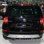 Skoda Yeti facelift rear fascia at Auto Expo 2014