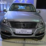 Ssangyong Rexton 2.0L front at Auto Expo 2014
