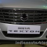 Ssangyong Rexton 2.0L grille at Auto Expo 2014