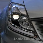 Ssangyong Rexton 2.0L headlight at Auto Expo 2014