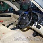Ssangyong Rexton 2.0L interior at Auto Expo 2014