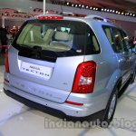 Ssangyong Rexton 2.0L rear three quarters right at Auto Expo 2014