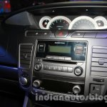 Ssangyong Rodius audio system at Auto Expo 2014