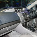 Ssangyong Rodius dashboard passenger side at Auto Expo 2014