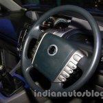 Ssangyong Rodius steering wheel at Auto Expo 2014