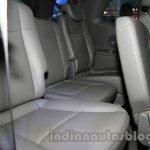 Ssangyong Rodius third row seat at Auto Expo 2014