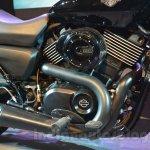 Harley Davidson Street 750 Auto Expo 2014 engine