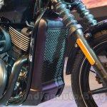 Harley Davidson Street 750 Auto Expo 2014 shocks