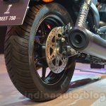 Harley Davidson Street 750 Auto Expo 2014 rear wheel