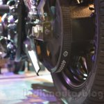 Harley Davidson Street 750 Auto Expo 2014 brake
