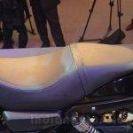 Harley Davidson Street 750 Auto Expo 2014 seat