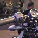 Harley Davidson Street 750 Auto Expo 2014 handlebars