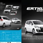 Suzuki Ertiga Sporty launched Indonesia brochure